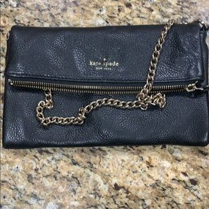 Kate Spade fold over clutch bag